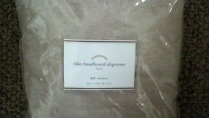 Pottery Barn Riley Headboard Slipcover Flax Linen Full NIP No Mono