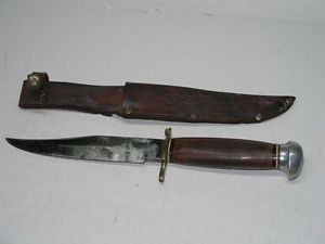 Vintage York Cutlery Germany Original Bowie Knife and Sheath