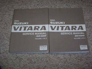 Suzuki Grand Vitara Repair Manual