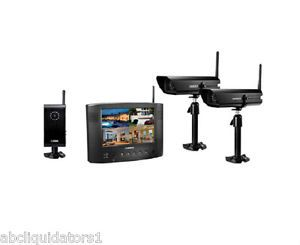 Wireless Security Camera System Monitor