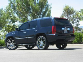 "24"" inch Cadillac Escalade Chrome Plated Wheels Rims Tires Package Marcellino"