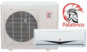 Palatinco Ductless Mini Split Heat Pump Air Conditioner 12 000 BTU 1 Ton