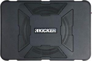 "Kicker 2011 11 HS8 Car Audio 8""Hideaway Powered Enclosed Sub Subwoofer Enclosure"