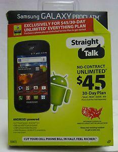 Straight Talk Samsung Galaxy Proclaim