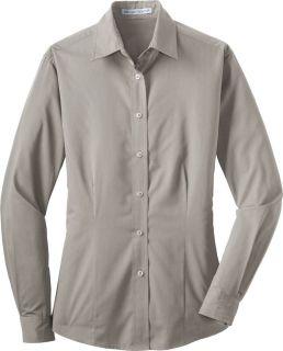 Port Authority Ladies Tonal Stripe Pattern Easy Care Shirt Blouse L613