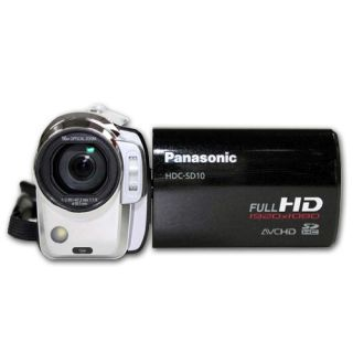 Panasonic HDC SD10 High Definition Camcorder Black 0037988984398