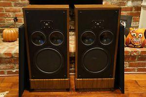 Vintage Polk Audio Speakers RTA11 Real Time Array Monitor 10 RARE