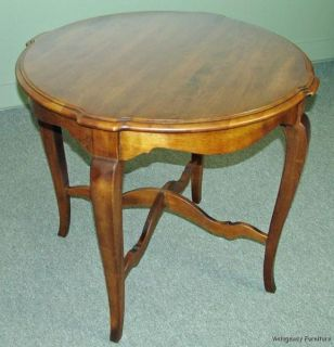 5506 Ethan Allen Round Table Country French Collection