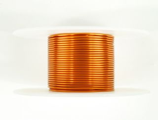 Magnet Wire 17 AWG Gauge Enameled Copper 200C 2oz 20ft Magnetic Coil Winding
