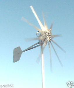 1600W Fire Bird 24 Volt 10 Bladed Hi Power Wind Turbine Generators High Amps
