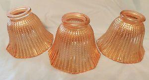 Iridescent Glass Lamp Shade
