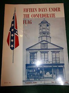 Civil War Centennial Book Fifteen Days Under Confederate Flag Waynesboro PA