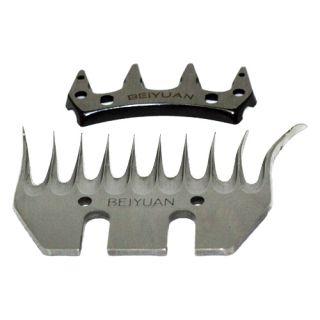 CBI N1J GM01 76 Clipper Sheep Shear Curling Tooth Blades Attachments Large New