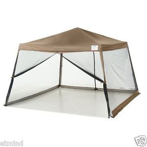 Sport Series Slant Leg 12' x 12' Pop Up Canopy with Screen Insert Tent Shelter