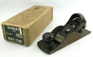 Vintage Stanley 220 Hand Carpenters Wood Block Plane Woodworking Hand Tool