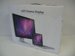 """Apple 24"""" LED Cinema Display Vesa Mount A1267 1920x1200 Mini DisplayPort"""