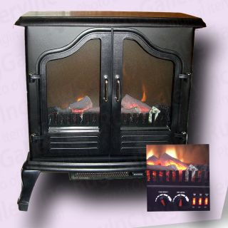 Grand Aspirations Fireplace Air Heater Stove Electric Portable Compact FS2210B