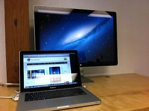 "Apple 24"" Cinema Display LED Mini Display Port Discounted Unit Save Free SHIP"
