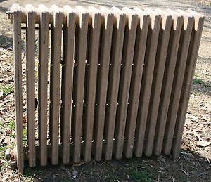 "Large Cast Iron Home Heating Radiator Hot Water Steam Radiator 36""H 40""L"