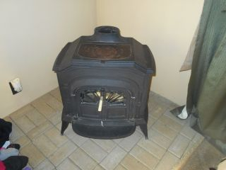 1979 Vermont Castings Resolute Wood Burning Stove Fireplace