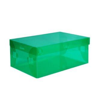 Ladies Storage Shoe Box Case Home Organization 6 Colors Transparent