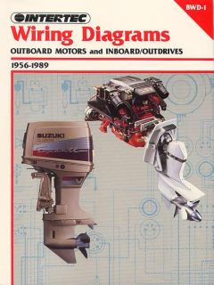 Wiring Diagrams Outboard Inboard in Out Drives 1956¿1989