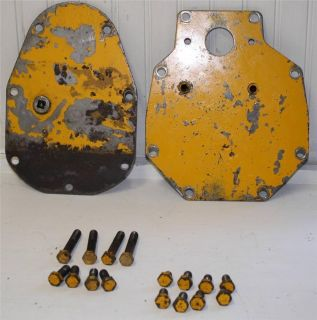 Cub Cadet 100 Lawn Garden Tractor Front and Rear Transmission Plates Covers