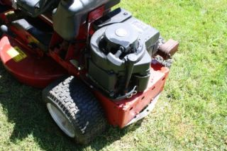 Snapper Ride on Riding Lawn Mower 8HP 5 Speed for Fix Up or Parts Was Working