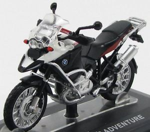 Model Motorcycles Moto Cross 1 24 BMW R 1200 GS Adventure Diecast New RARE