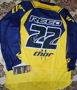Chad Reed Signed Jersey