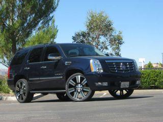 "New 24"" inch Wheel and Tire Package Rims GMC Yukon Sierra Denali 1500 2012 2011"