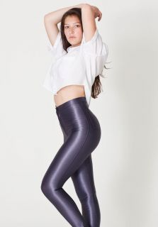 American Apparel Charcoal Disco Pants