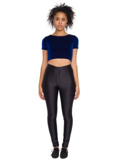 American Apparel Black Disco Pant Size Medium