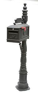Locking Mailbox Premium Secure Cast Aluminum Mailbox from Better Box Mailboxes
