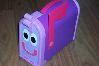mailbox blues clues toy. Modren Toy Blues Clues Purple Mailbox Stationary Storage Toy On