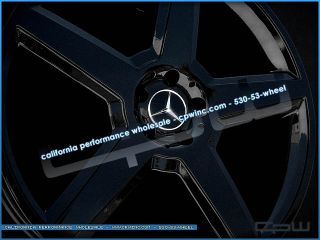 """Marcellino S22 250 Mercedes Benz Wheels Rims S550 S600 S63 S65 CL550 CL600 22"""""""