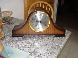 Linden Mantel Clock Battery Operated Chimes not Working