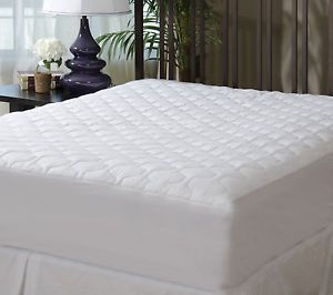 The Grand Mattress Pad Fitted Quilted Mattress Cover Twin Full Queen King