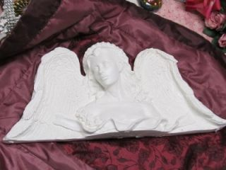 """Guardian Angel"" Sculpture by Vickie Kihlberg Shabby Cottage Chic Religious"