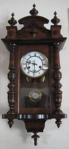 Antique German Mini Junghans Original Vienna Regulator Wall Clock 1905