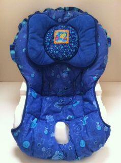 Fisher Price Ocean Wonders Aquarium Fish Cradle Swing Replacement Seat Cover