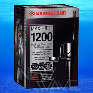 Maxi Jet Pro 1200 295 GPH Powerhead Undergravel Filter Aquarium Pump Power Head