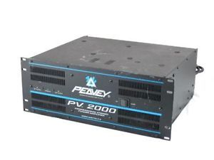 Peavey PV 2000 2 Channel Professional Stereo 2000W Power Amplifier