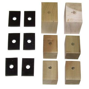 1934 1935 1936 1937 1938 1939 1940 Bed Mounting Blocks Pads Chevy GMC Truck