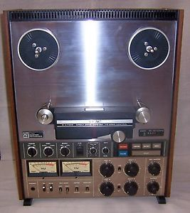 Teac A 7300 Pro Recorder Reel to Reel Tape Deck 4 Track 2 Channel