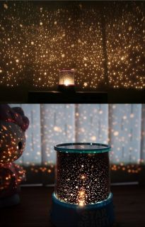 Romantic Star Master Sky Night Cosmos Projector Light Autorotate Lamp Gift LCJ5