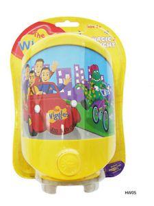 Wiggles Dorothy Big Red Car Kids Baby Children's Night Light New