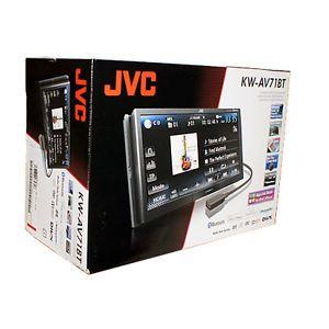 """JVC KW AV71BT 7"""" Touchscreen Bluetooth Car Stereo Receiver Motionx"""