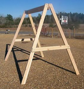 Build wood yard swing 2 bench glider w canopy diy plans for Building a swing stand