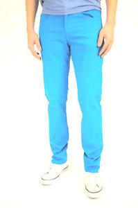 Light Blue Skinny Jeans Men